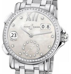 3343-222B-7/391 Ulysse Nardin Dual Time Lady