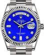Rolex Day-Date 36 118239 Lapis Lazuli set with diamonds