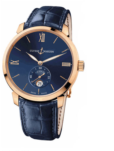 3206-136-2/33 Ulysse Nardin часы Classico Small Second Manufacture