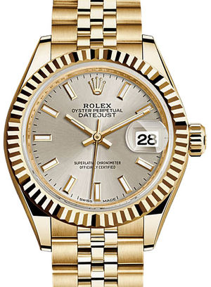Rolex Lady-Datejust 28 279178 Silver