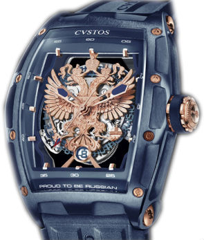 Cvstos Limited Edition GT Case Proud be Russian Blue Steel PVD