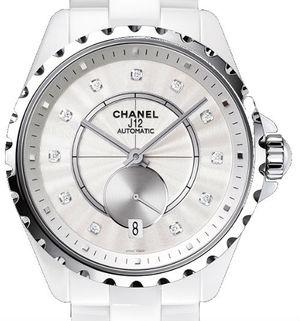 H4345 Chanel J12 White