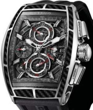 Chrono II Black Steel Carbon GT Cvstos Challenge Chrono