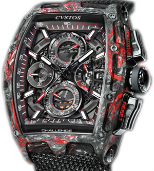 Challenge Chrono II Black Forged Carbon Honolulu Cvstos Challenge Chrono