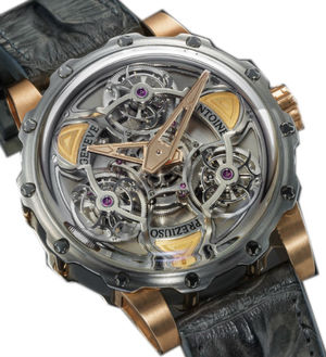 TTR3 Power Titanium Steel Pink gold Antoine Preziuso Master Exclusive Creations