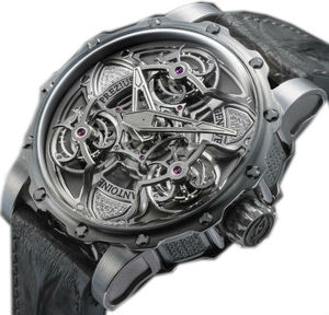 TTR3 Power Titanium Steel White gold and diamonds Antoine Preziuso Master Exclusive Creations