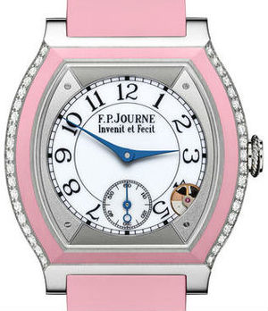 Titanium set with diamons Rose F.P.Journe Elegante Collection