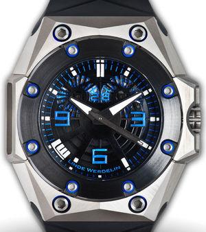 Oktopus Titanium Blue Linde Werdelin Oktopus