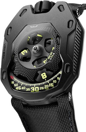 UR-105 TA Black Urwerk 105 Collection
