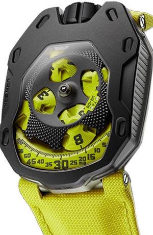 UR-105 TA Black Lemon Urwerk UR-105