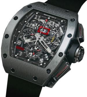 Richard Mille Mens collectoin RM 001-050 RM 011 Titanium Felipe Massa