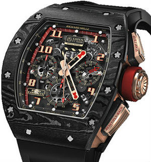 Richard Mille Mens collectoin RM 001-050 RM 011  Lotus F1 Team