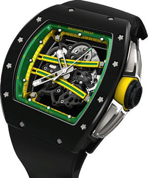 Richard Mille Mens collectoin RM 050-068 RM 61-01 Green Dial