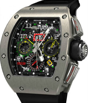 RM 11-02 Flyback Chronograph Dual Time Zone Richard Mille Mens collectoin RM 001-050