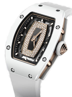 RM 07-01 ATZ  White Ceramic Richard Mille RM Womens collection