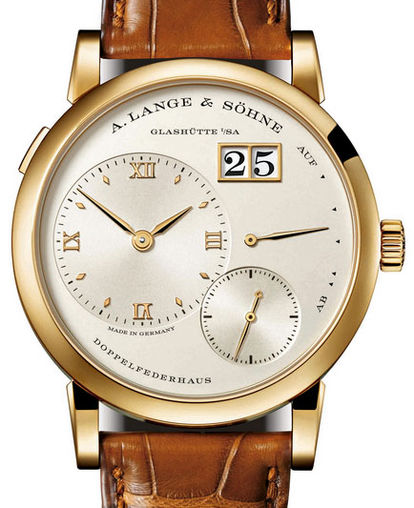 191.021 A. Lange & Söhne часы Yellow Gold Novelty 2015