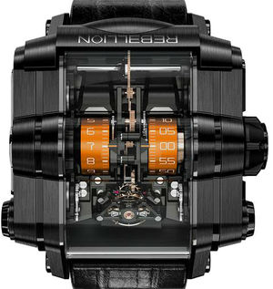 Т-1000 T1K Titanium DLC Black Orange Rebellion T-1000