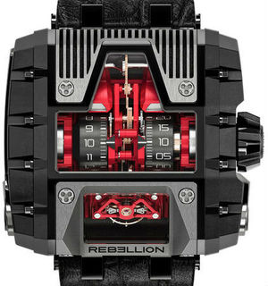 T-1000 Gotham T2K Titanium Red Black Rebellion Gotham