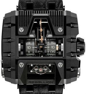 T-1000 Gotham Titanium Black PVD  Rebellion Gotham