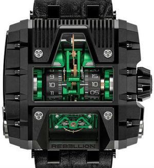 Rebellion Gotham T-1000 Gotham T2K Titanium PVD Green Black
