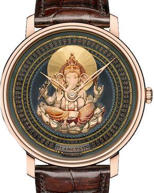 Blancpain Villeret Ultra-Slim 6615-3616-55B Ganesh