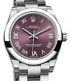 Rolex Oyster Perpetual 177200 Red grape