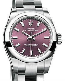 176200  Red grape dial    Rolex Oyster Perpetual