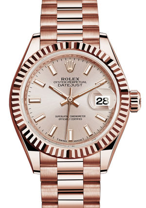 279175 Sundust dial Rolex Lady-Datejust 28