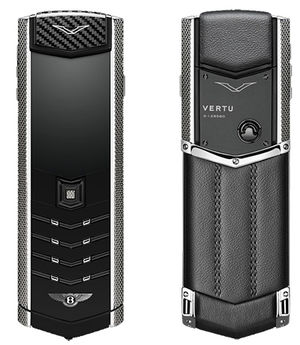 Signature for Bentley Steel and Carbon Vertu Signature
