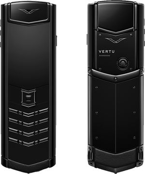 Signature Ultimate Black Vertu Signature