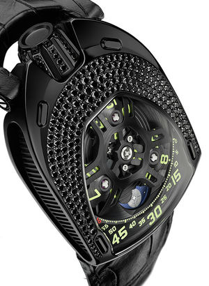 Urwerk 106 Lady Collection UR-106 Black Lotus
