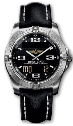 E79362.BLACK.CALF.BA Breitling Professional