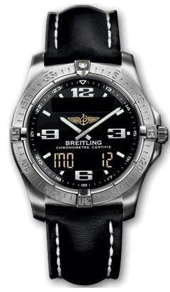 E79362.BLACK.CALF.BD Breitling Professional