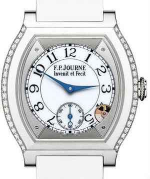 F.P.Journe Elegante Collection Titanium set with diamonds white
