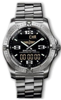 E79362.BLACK.PROFII.Titanium Breitling Professional