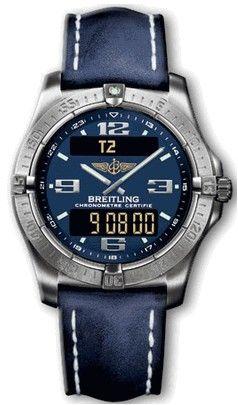 Breitling Professional E79362.BLUE.CALF.BD