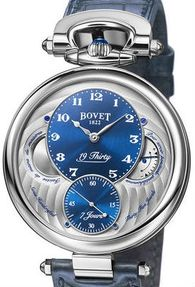 NTS0001 Bovet часы 7-Day Power Reserve Indicator and Sub-Seconds