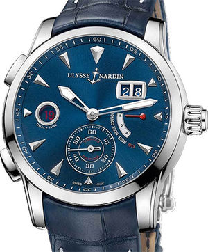 3243-132LE/93-MON Ulysse Nardin Dual Time Manufacture