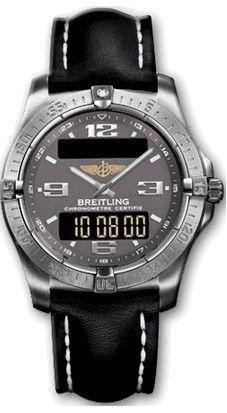 E79362.GREY.CALF.BD Breitling Professional
