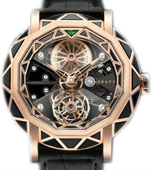 Black Diamond&Rose Gold Graff Technical MasterGraff