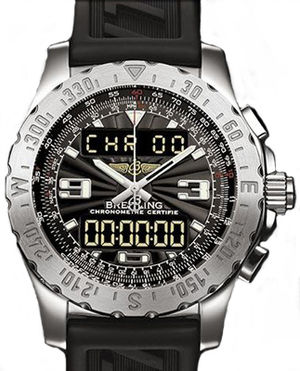 A78363.BLACK.RUBBER Breitling Professional