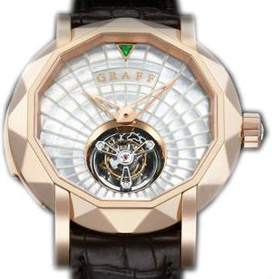 Graff Technical MasterGraff  Rose Gold With White Mother of Pearl Dial
