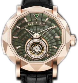 Graff Technical MasterGraff  Rose Gold With Black Mother of Pearl Dial