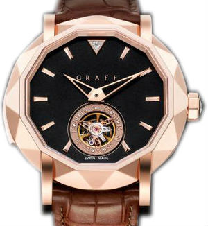 Graff Technical MasterGraff  Rose Gold With Black Dial