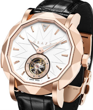 Rose Gold With Wh Graff Technical MasterGraff