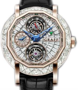 Graff Technical MasterGraff  Full Diamond&Rose Gold