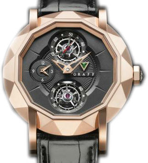 Rose Gold With Black Dial Graff Technical MasterGraff