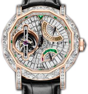 Full Diamond With Rose Gold Graff Technical MasterGraff