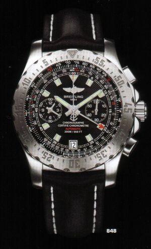 A27362.BLACK.CALF.BD Breitling Professional