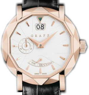 Graff Star Collection Rose Gold With White Dial